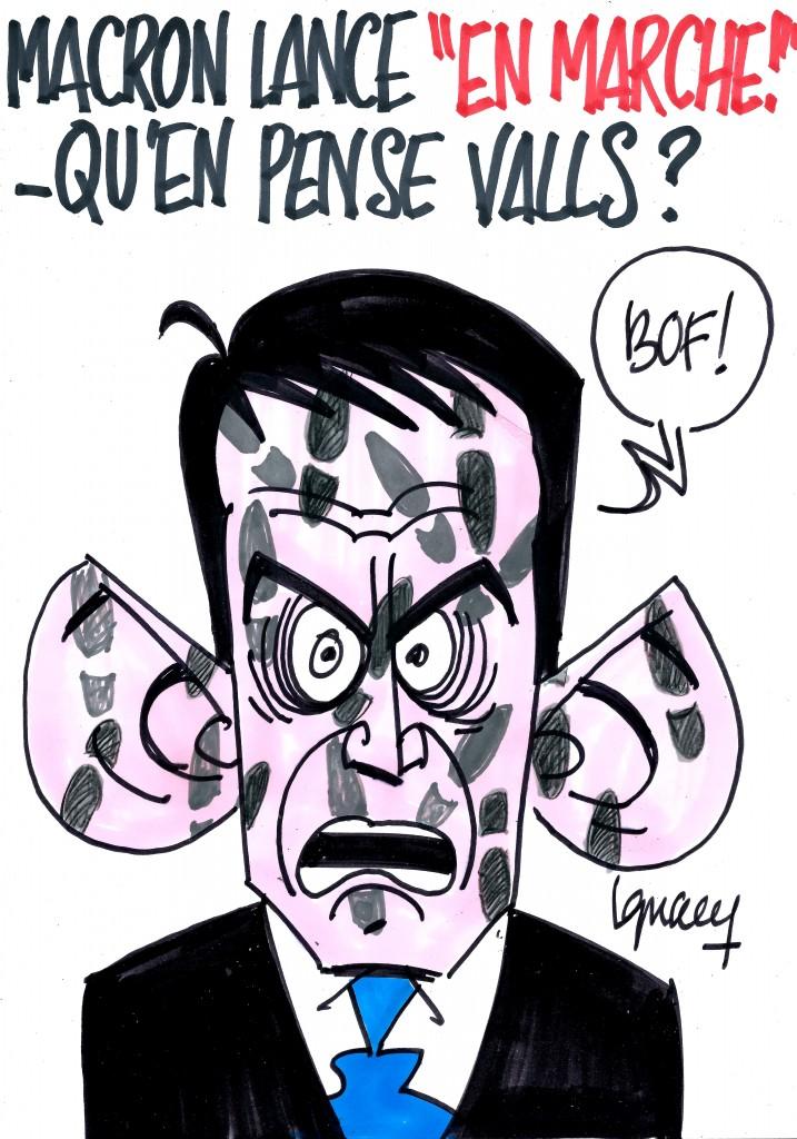 """Ignace - Macron lance """"En Marche !"""""""