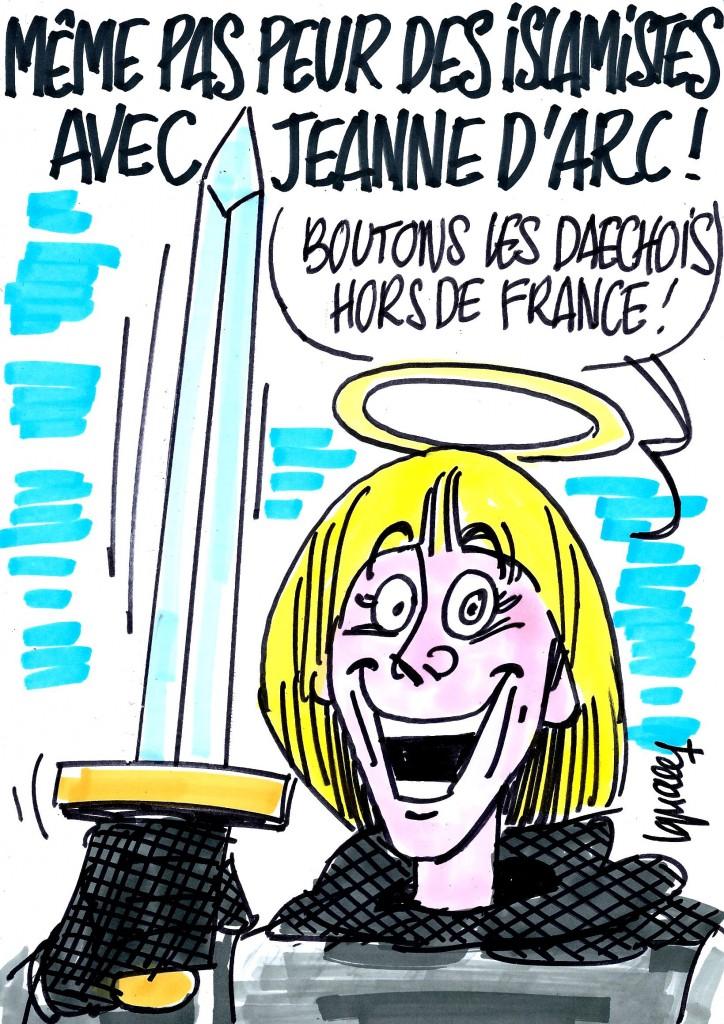 Ignace - Défilé de Jeanne d'Arc et Daech