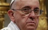 Nouvelle attaque du pape François contre l'Europe qui ferme ses ports