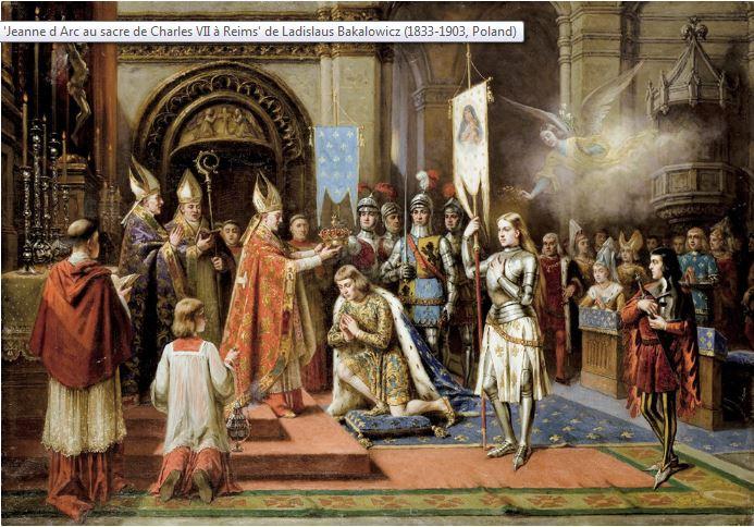 J d arc sacre de Reims