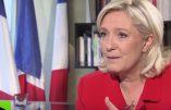 """Marine Le Pen: """"Si je viens au pouvoir, oui, je reviendrai sur la loi Taubira"""""""