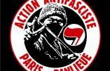 Symbolique de la violence utilisée par le mouvement Action Antifasciste Paris-Banlieue