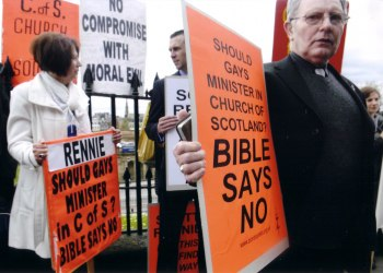 eglise-presbyterienne-ecosse-protestation