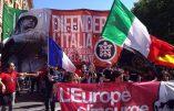 """""""Défendre l'Italie"""" : des milliers de manifestants à l'appel de Casapound"""