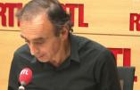 Eric Zemmour commente la chanson d'Amir Haddad, représentant de la France au concours Eurovision