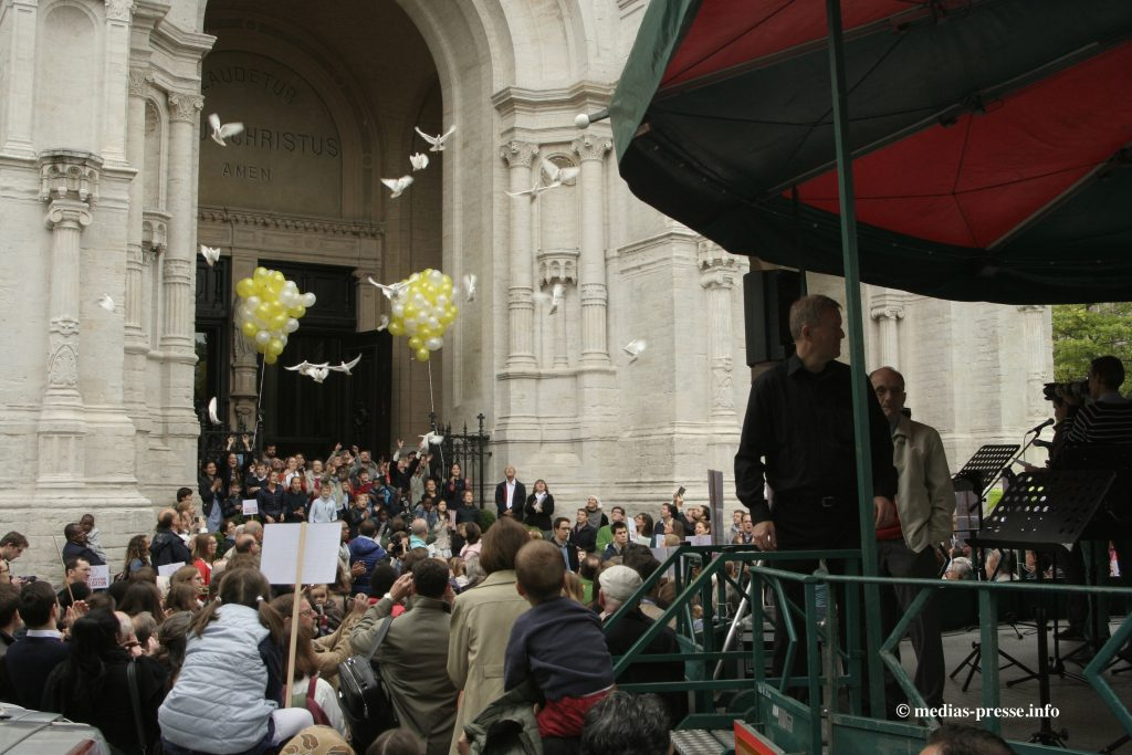 MPI - 20160619 - Bruxelles - Mobilisation Sainte-Catherine - 2