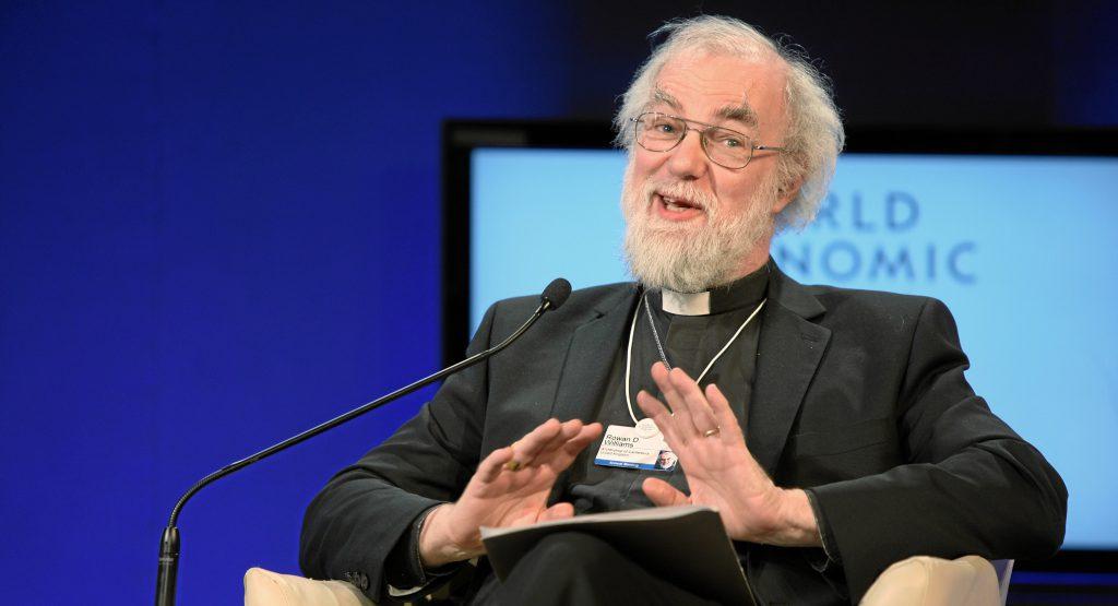 "Rowan Williams, ancien ""archevêque"" de Cantorbéry"
