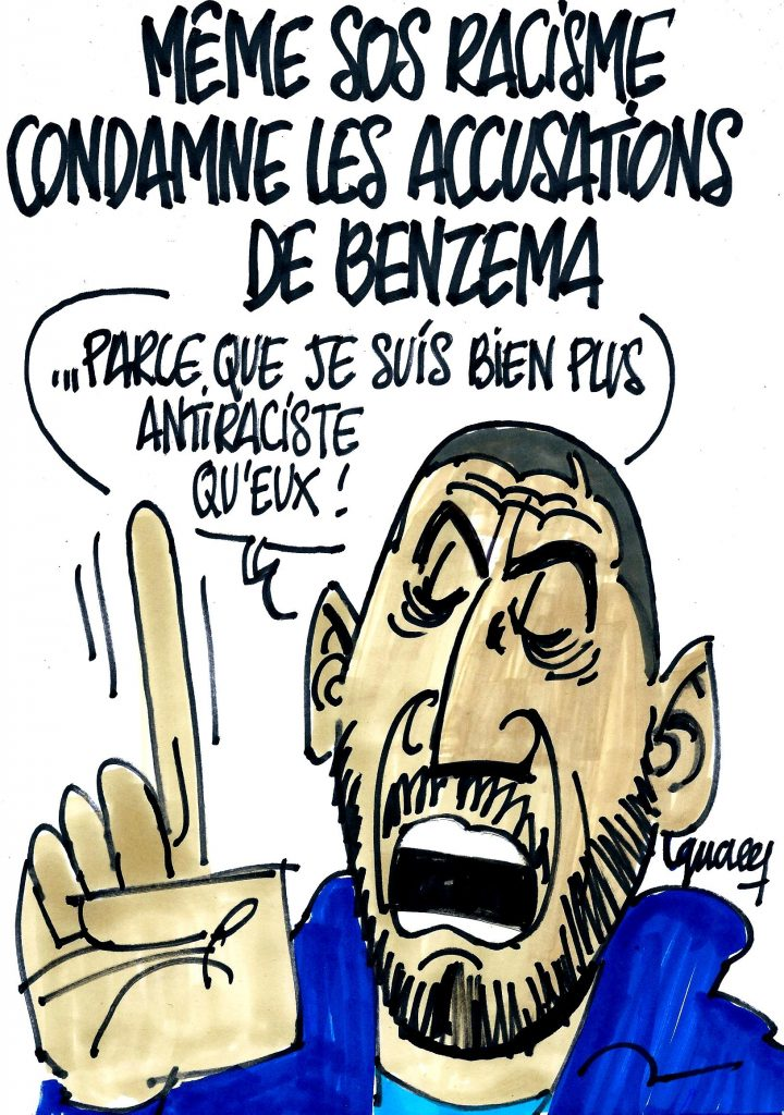 Ignace - SOS Racisme condamne les accusations de Benzema