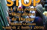 Manifestation de Pegida France à Dieppe interdite