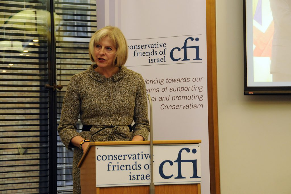 Theresa-May-conservative-friends-of-israel