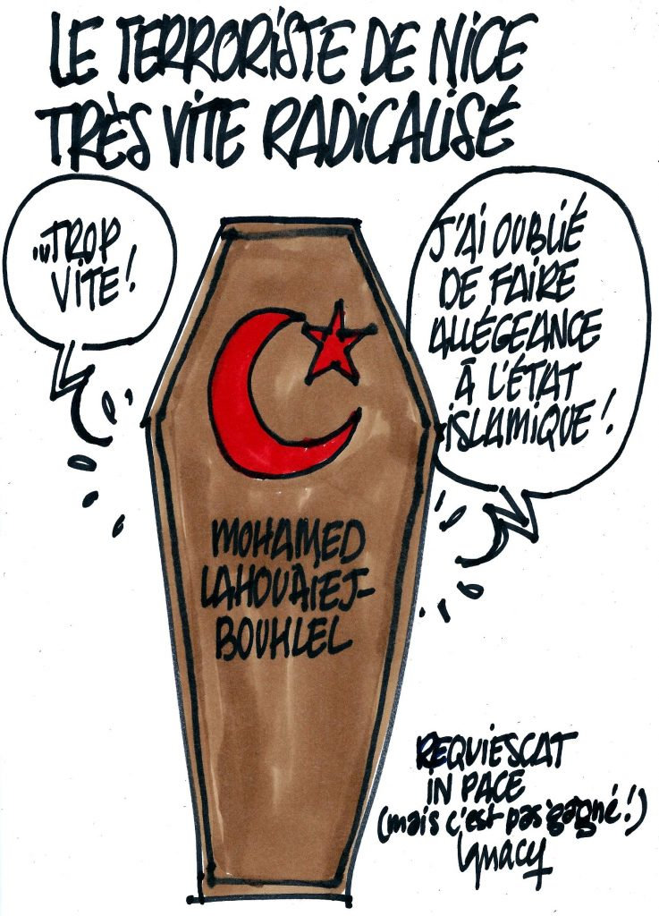 Ignace - Le terroriste de Nice très vite radicalisé