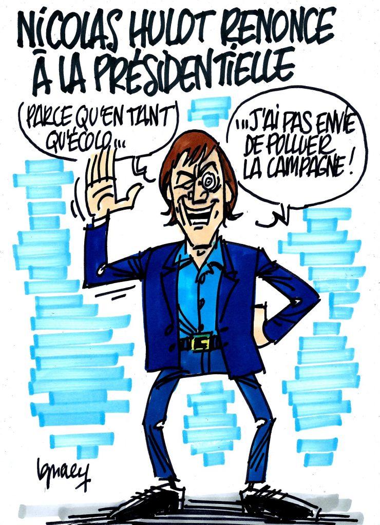 Ignace - Nicolas Hulot renonce à la presidentielle