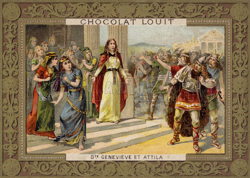 St Genevieve and Attila the Hun