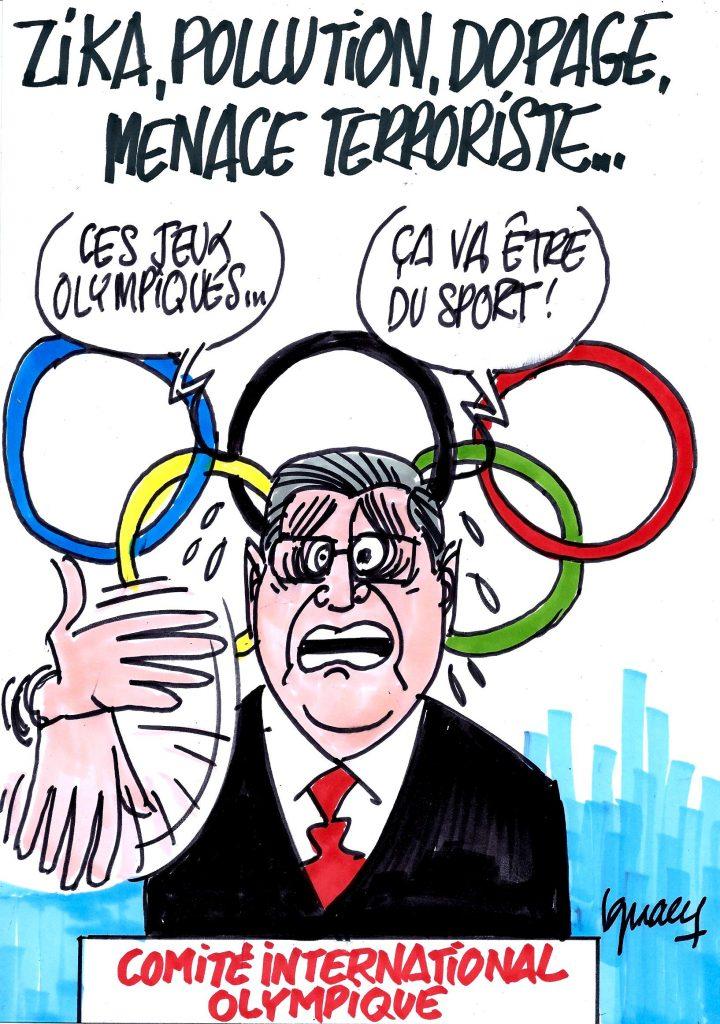 Ignace - Début des Jeux olympiques