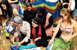 Manifestation à Londres en soutien au burkini, cette invention d'une Australienne