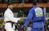 JO de Rio: Un judoka égyptien refuse ostensiblement la main tendue de son vainqueur israélien