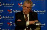 Immigration, terrorisme : le président tchèque invite ses concitoyens à s'armer