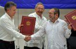 Colombe de la paix en Colombie ?