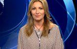 A la télévision italienne, la présentatrice apparaît avec son chapelet et sa croix autour du cou
