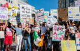 Manifestation pro-avortement en Irlande