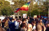 En marge de la Manif pour Tous, moins de 300 LGBT et antifas et les singeries des Femen