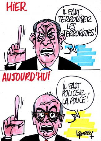 Ignace - Police vs Cazeneuve