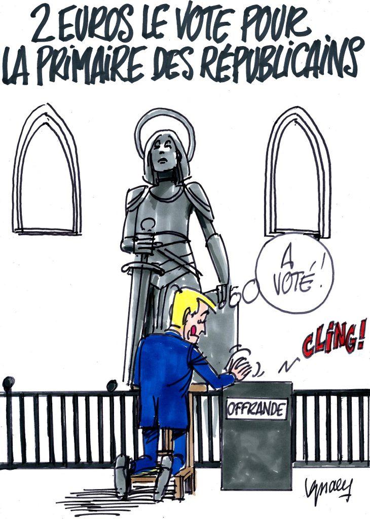 Ignace - 2 euros le vote pour la primaire
