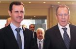 L'attaque de l'État islamique contre Palmyre: Bachar el-Assad et Sergeï Lavrov expliquent