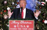 """Après l'attentat de Berlin, Donald Trump promet d'éradiquer les terroristes islamistes qui """"attaquent continuellement les chrétiens"""""""