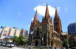 """Un """"complot terroriste"""" devait viser la cathédrale de Melbourne pour Noël"""