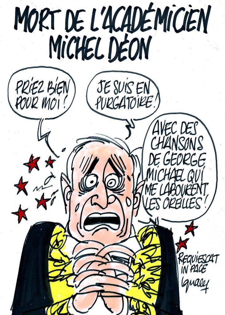Ignace - Mort de l'académicien Michel Déon