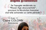 14 janvier 2017 à Meylan : conférence de Claire Colombi sur le Moyen-Âge