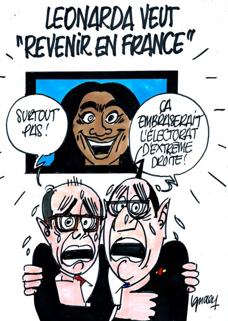 """Ignace - Leonarda veut """"revenir en France"""""""