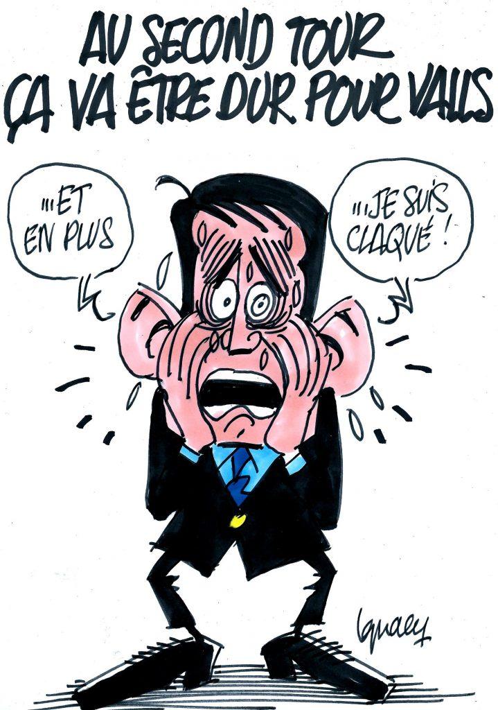 Ignace - Deuxième tour difficile pour Valls