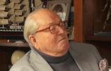 Jean-Marie Le Pen estime bien normal que les électeurs du FN préfèrent la ligne de Marion Maréchal-Le Pen à celle de Florian Philippot