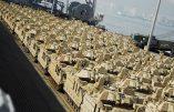 Déploiement militaire américain massif en Europe