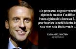 Macron: Florilège du programme électoral d'un traître En Marche – Non exhaustif et en images!