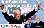 25 mars 2017 à Amiens avec Jean-Marie Le Pen, Alexandre Gabriac et Thomas Joly