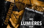 """12 février 2017 à Nice – Conférences de Marion Sigaut et Philippe Prévost : """"Des Lumières aux Ralliements : l'Eglise face aux hérésies"""""""