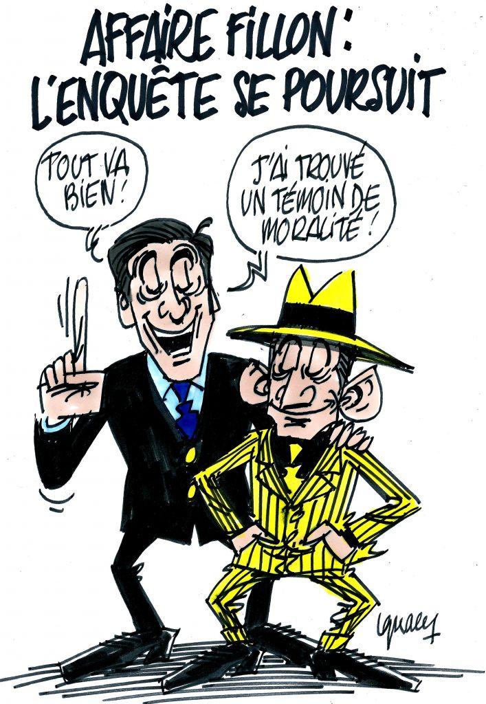 Ignace - L'enquête sur Fillon se poursuit