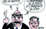 Ignace - Hollande répond à Le Pen au sujet des magistrats