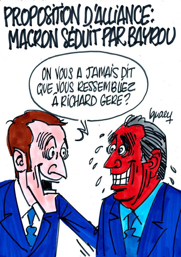 Ignace - Macron séduit par Bayrou