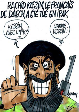 Ignace - Le djihadiste Rachid Kassim tué en Irak