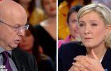 Patrick Buisson face à Marine Le Pen: France 2 c'est l'arroseur arrosé!