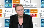 Marion Maréchal-Le Pen invitée du Grand Jury (1/02/2017), dénonce l'islamo-gauchisme et le tribunal médiatique qui travaille pour le mondialiste Emmanuel Macron