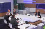 """""""BFMacron"""": Marine Le Pen n'ira pas """"débattre avec M. Macron sur BFMacron."""""""