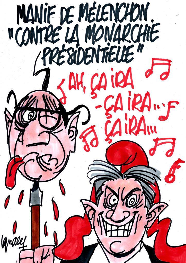 """Ignace - Mélenchon contre la """"monarchie présidentielle"""""""