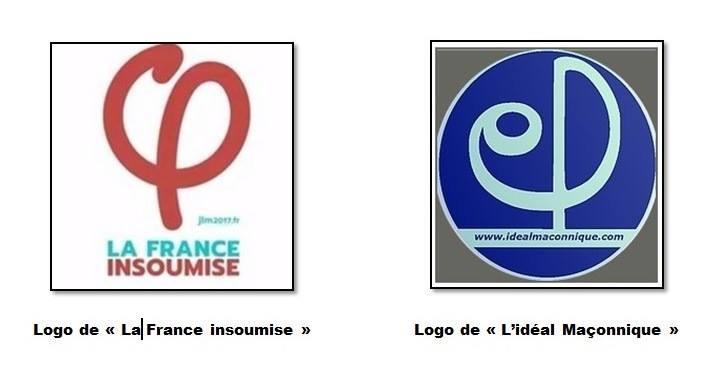 le logo ma231onnique choisi par jeanluc m233lenchon pour �la