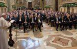 Anniversaire du Traité de Rome: le discours naturaliste du pape François