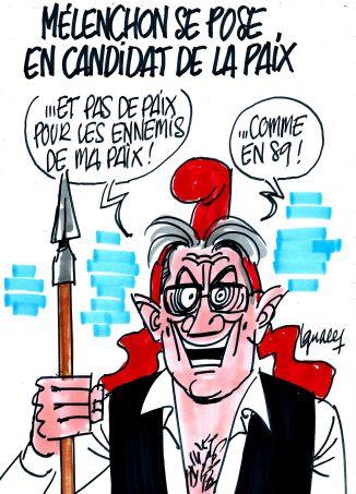 """Ignace - Mélenchon candidat de """"la paix"""""""
